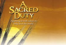 A Sacred Duty: Applying Jewish Values to Help Heal the World